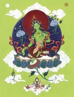 6534502f9dc907c3a879a7fd80604c77--green-tara-buddhism